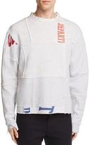 Longjourney Nash Deconstructed Graphic Sweatshirt