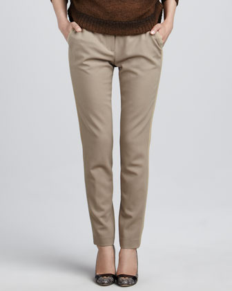 Magaschoni Stretch-Wool Pants