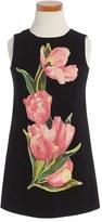 Dolce & Gabbana Toddler Girl's Tulip Print Sleeveless Dress