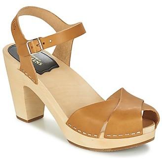 Swedish Hasbeens MERCI SANDAL women's Sandals in Beige