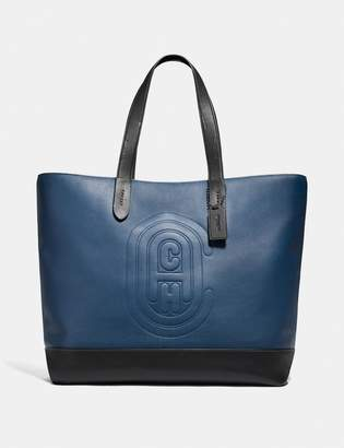 Coach Academy Tote With Patch