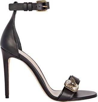 Alexander McQueen Medieval Jewel Buckle Sandals