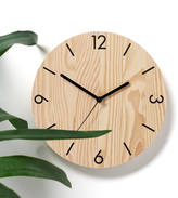 ByShop Numbers Wooden Wall Clock