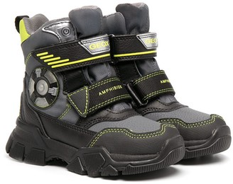 Geox Kids Nevegal Abx light-up ankle boots