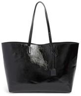 Saint Laurent East/west Leather Tote - Black