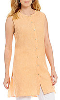 Preston & York Joan Sleeveless Linen Tunic