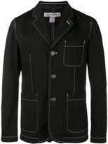Comme des Garcons single breasted jacket - men - Cotton - S