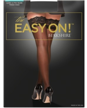 Berkshire Women's The Easy On! Luxe Thigh Highs