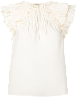 Ulla Johnson Liv ruffle-embellished top