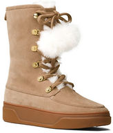 MICHAEL Michael Kors Juno Faux Fur Trim Cold Weather Ankle Boots