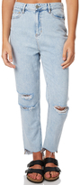 Lee Soho Womens Mom Jean Blue