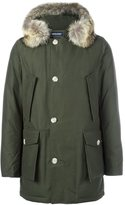 Woolrich fur hooded parka