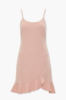 Forever 21 Ruffle Tulip-Hem Mini Dress