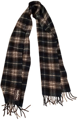 Barbour Multicolour Wool Scarves