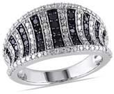 Catherine Malandrino Black Diamond Ring.