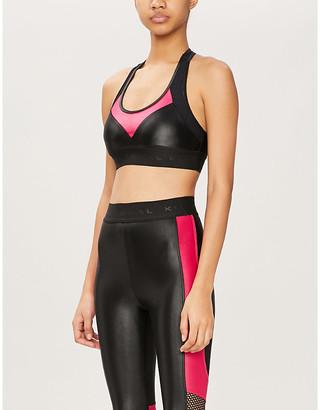 Koral Emblem Versatility stretch-jersey sports bra