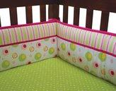 Trend Lab Splash Pink - Crib Bumpers