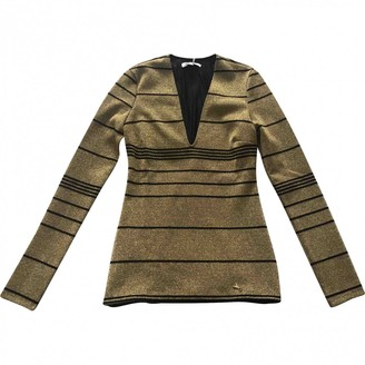 Patrizia Pepe Gold Top for Women
