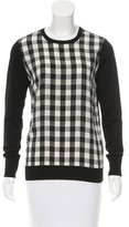 Equipment Silk Gingham Top