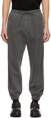 Juun.J Grey Zippered Lounge Pants