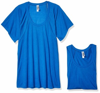 Marky G Apparel Women's Flowy Raglan T-Shirt-2 Pack