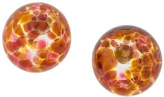 Nina Ricci Glass Ball Earrings