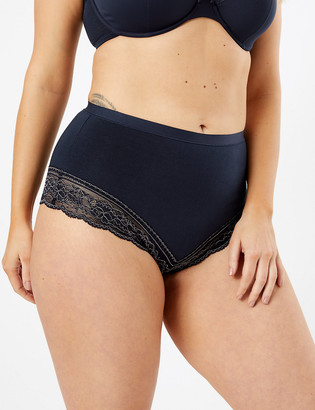 Marks and Spencer 2 Pack Medium Control Brazilian Shaping Knickers