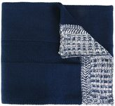 Diesel contrast edge scarf - men - Acrylic - One Size