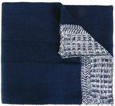 Diesel contrast edge scarf
