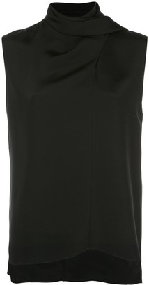 Adam Lippes Scarf Wrapped Blouse