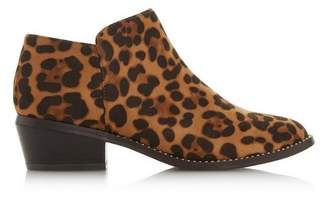 Dorothy Perkins Womens *Head Over Heels By Dune Multi Colour Leopard Print 'Pinnie' Ankle Boots, Leopard
