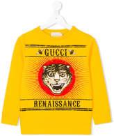 Gucci Kids Renaissance sweatshirt