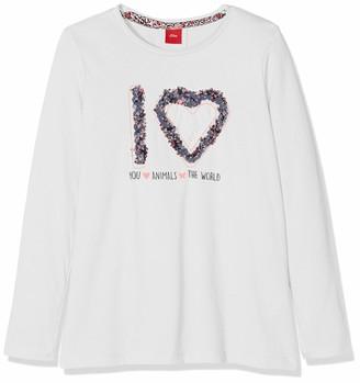S'Oliver Girl's 53.908.31.8683 T-Shirt