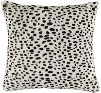 Biba Faux Fur Dalmatian Print Cushion