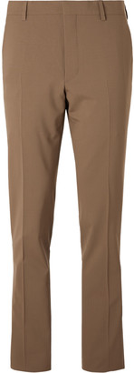 Prada Slim-Fit Stretch-Virgin Wool Trousers