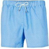 Topman Blue Marl Swim Shorts