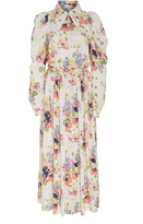 Jill Stuart Noot Button Down Print Dress