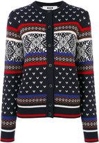 MSGM patterned cardigan
