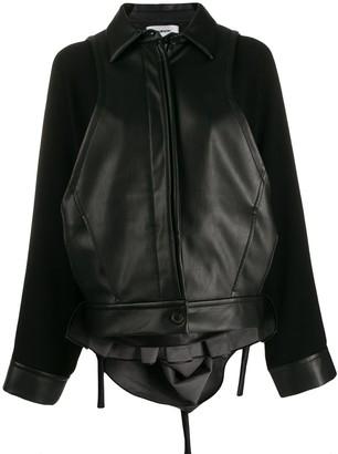 Chalayan Fabric Mix Jacket