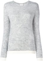 Moncler classic crew neck sweater - women - Polyamide/Mohair/Wool - S
