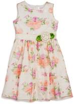 Us Angels Girls' Floral Print Dress