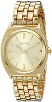 August Steiner Women's AS8186YG Yellow Gold Quartz Watch with Yellow Gold Dial and Yellow Gold Bracelet