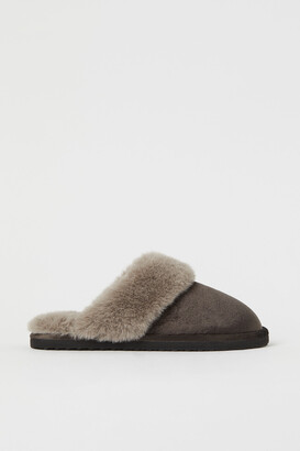 H&M Warm-lined Indoor Slippers