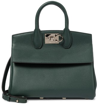 Salvatore Ferragamo Studio Medium leather tote