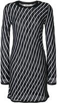 Diane von Furstenberg embroidered fitted dress - women - Polyamide/Spandex/Elastane/Rayon/Merino - S