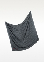Zadig & Voltaire Kerry Skull Outline Modal Scarf