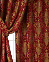 "Horchow Austin Horn Classics Two 96""L Scarlet Curtains"