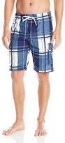 U.S. Polo Assn. Men's Block Plaid Short