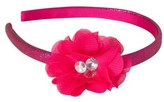 Remington Glitter Flower Headband