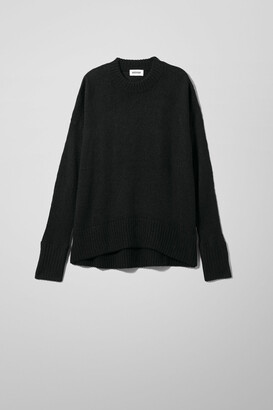Weekday Manama Sweater - Black